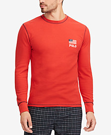 Polo Ralph Lauren Men's Waffle-Knit Crew-Neck T-Shirt