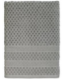 Avanti Checkerboard Cotton Terry Jacquard Bath Towel