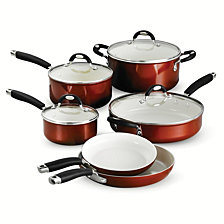 Tramontina Style Ceramica Metallic Copper 10 Pc Cookware Set