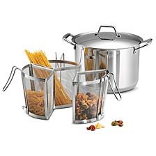 Gourmet 8 Qt Pasta Cooking Set