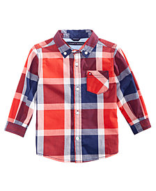 Tommy Hilfiger Baby Boys Plaid Shirt