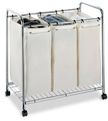 Organize it All 3 Section Laundry Sorter