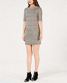 Trina Turk Plaid Shift Dress