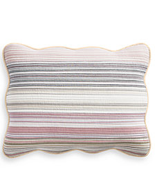 Martha Stewart Collection Yarn Dye King Sham, Created for Macy's