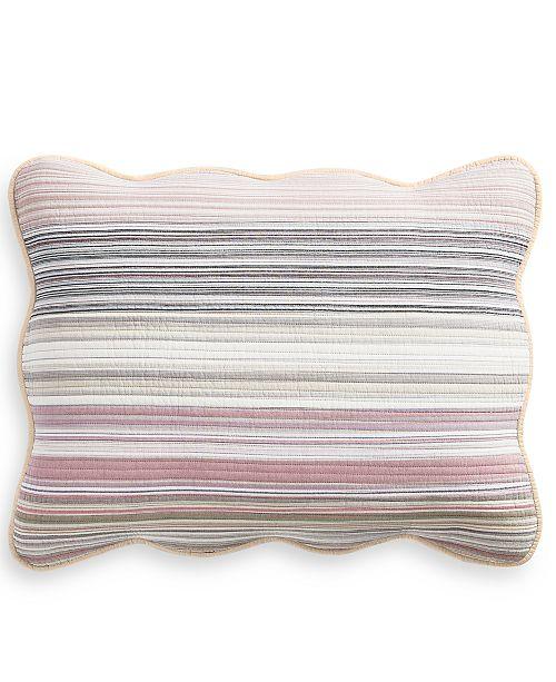 Martha Stewart Collection Yarn Dye Standard Sham, Created for Macy's