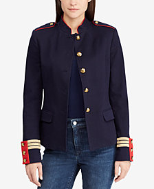 Lauren Ralph Lauren Jacquard Officer Jacket