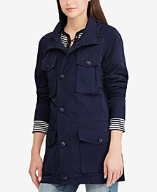 Lauren Ralph Lauren Water-Repellent Taffeta Jacket