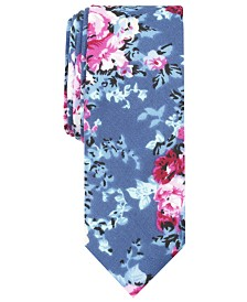 Penguin Men's Poole Floral Skinny Tie
