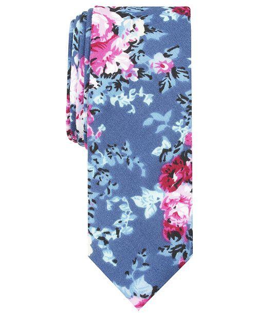 Original Penguin Penguin Men's Poole Floral Skinny Tie