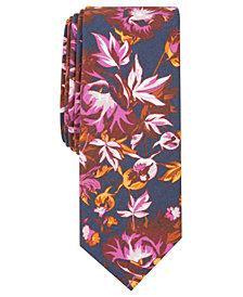 Penguin Men's Bathgate Floral Skinny Tie