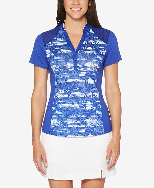 Callaway Printed Performance Golf Top