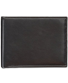 Perry Ellis Men's Manhattan Smooth Leather Passcase Wallet