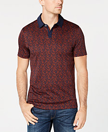 Michael Kors Mens Dot Print Polo