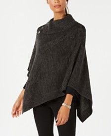 Karen Scott Envelope Poncho, Created for Macy's