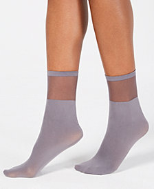I.N.C. Sheer Ankle Socks, Created for Macy's
