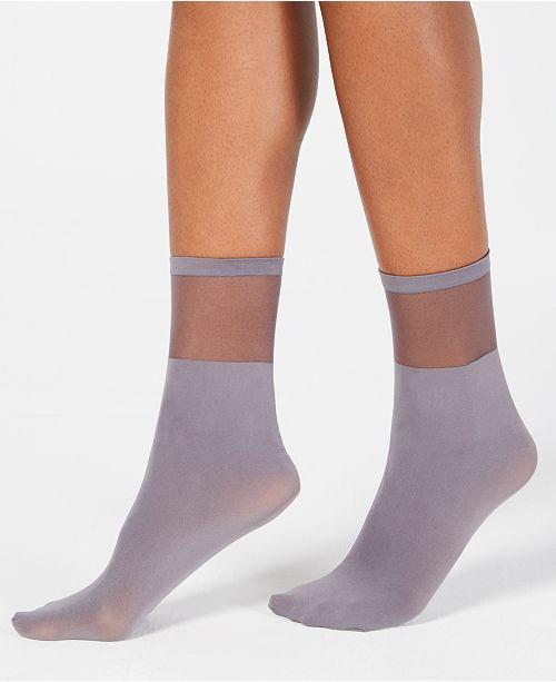 7c1a49a2223 INC International Concepts I.N.C. Sheer Ankle Socks