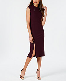 Ivanka Trump Mock-Neck Dress