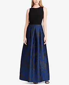 Lauren Ralph Lauren Pleated Sleeveless Dress