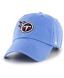 '47 Brand Tennessee Titans CLEAN UP Strapback Cap