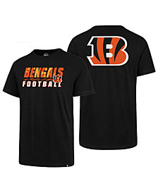 '47 Brand Men's Cincinnati Bengals Fade Back Super Rival T-Shirt