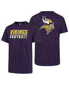 '47 Brand Men's Minnesota Vikings Fade Back Super Rival T-Shirt