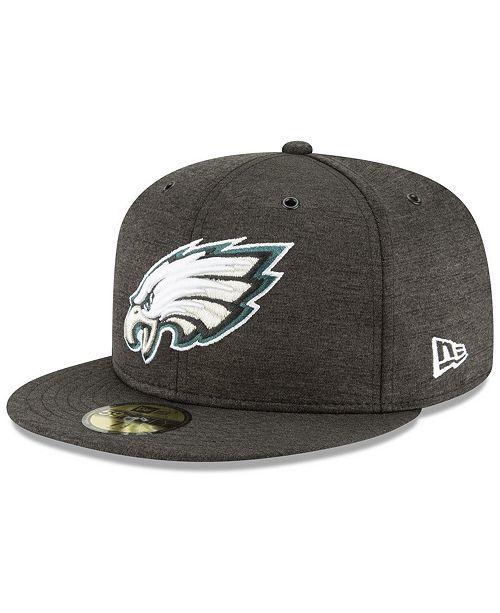 2e9266f8d8e ... New Era Philadelphia Eagles On Field Sideline Home 59FIFTY FITTED Cap  ...