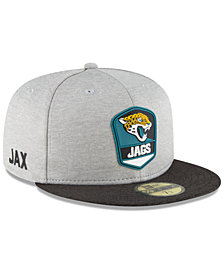 New Era Jacksonville Jaguars On Field Sideline Road 59FIFTY FITTED Cap