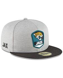 New Era Jacksonville Jaguars On Field Sideline Road 59FIFTY FITTED Cap