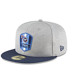 New Era Tennessee Titans On Field Sideline Road 59FIFTY FITTED Cap