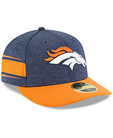 New Era Denver Broncos On Field Low Profile Sideline Home 59FIFTY FITTED Cap
