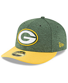 New Era Green Bay Packers On Field Low Profile Sideline Home 59FIFTY FITTED Cap