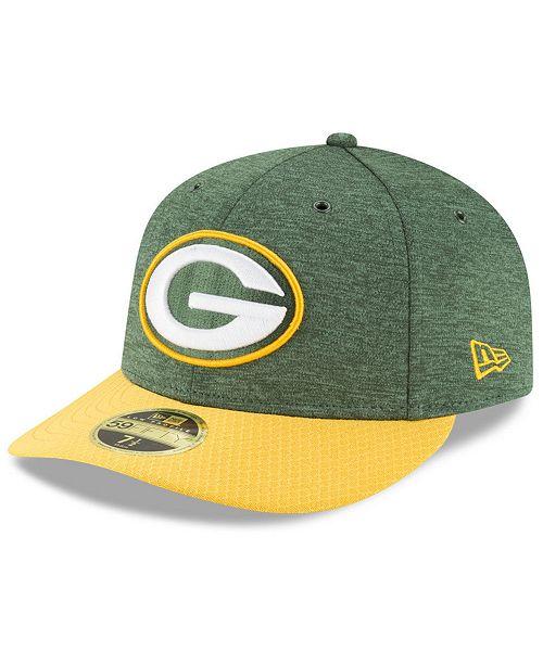 New Era Green Bay Packers On Field Low Profile Sideline Home 59fifty Fitted Cap Reviews Sports Fan Shop By Lids Men Macy S