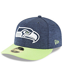 New Era Seattle Seahawks On Field Low Profile Sideline Home 59FIFTY FITTED Cap