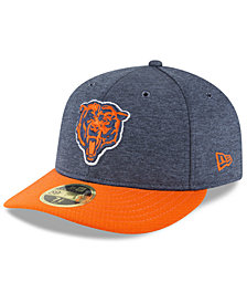 New Era Chicago Bears On Field Low Profile Sideline Home 59FIFTY FITTED Cap