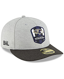 New Era Baltimore Ravens On Field Low Profile Sideline Road 59FIFTY FITTED Cap