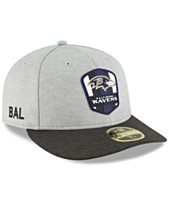 aeeb8d371 New Era Baltimore Ravens On Field Low Profile Sideline Road 59FIFTY FITTED  Cap