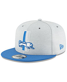 New Era Detroit Lions On Field Sideline Home 9FIFTY Snapback Cap