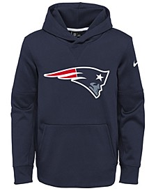 New England Patriots Circuit Logo Hoodie, Big Boys (8-20)