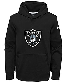 Nike Oakland Raiders Circuit Logo Hoodie, Big Boys (8-20)