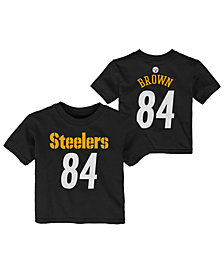 f5b04e44f Outerstuff Antonio Brown Pittsburgh Steelers Mainliner Player T-Shirt