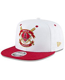 New Era Los Angeles Angels Crest 9FIFTY Snapback Cap