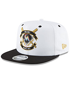 New Era Miami Marlins Crest 9FIFTY Snapback Cap