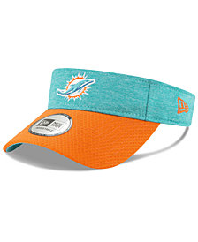 New Era Miami Dolphins On Field Sideline Visor