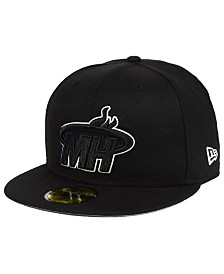 New Era Miami Heat Combo Logo 59FIFTY FITTED Cap