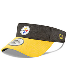 New Era Pittsburgh Steelers On Field Sideline Visor