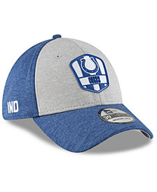 New Era Indianapolis Colts On Field Sideline Road 39THIRTY Stretch Fitted Cap