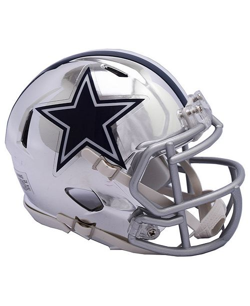 Riddell Dallas Cowboys Speed Chrome Alt Mini Helmet