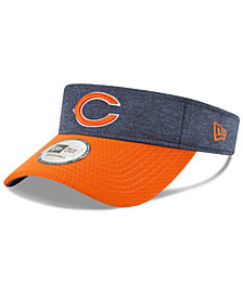 New Era Chicago Bears On Field Sideline Visor