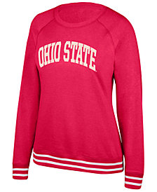 Top of the World Women's Ohio State Buckeyes Campfire Crewneck Sweatshirt