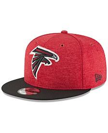 New Era Atlanta Falcons On Field Sideline Home 9FIFTY Snapback Cap